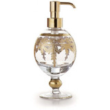 Baroque Gold Soap Pump MPN: ST1061SOZ UPC: 814639004885 by Arte Italica Pewter
