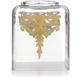 Baroque Gold Tissue Box Holder MPN: ST1059SOZ UPC: 814639004847 by Arte Italica Pewter