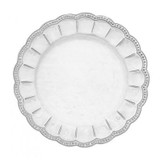 Bella Bianca Beaded Charger MPN: BBS1000 UPC: 814639008555 by Arte Italica Pewter