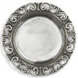 Donatello Charger MPN: DON0307 UPC: 814639001990 by Arte Italica Pewter
