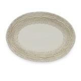 Finezza Cream Small Oval Tray MPN: FIN3344 UPC: 814639007503 by Arte Italica Pewter