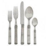 Isabella 5 Piece Place Setting MPN: P2515S UPC: 814639000856 by Arte Italica Pewter
