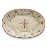 Medici Large Oval Platter MPN: MED2450 UPC: 814639003260 by Arte Italica Pewter