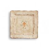 Medici Square Salad Dessert Plate MPN: MED9722 UPC: 814639003352 by Arte Italica Pewter