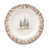 Natale Dinner Plate MPN: NAT9130 UPC: 814639006186 by Arte Italica Pewter