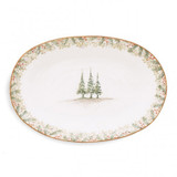 Natale Oval Platter MPN: NAT2450 UPC: 814639006070 by Arte Italica Pewter