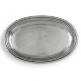Roma Peltro Oval Dish MPN: P2608 UPC: 814639001457 by Arte Italica Pewter