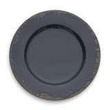 Scavo Blue Charger MPN: SCA110B UPC: 814639003383 by Arte Italica Pewter