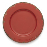 Scavo Red Charger MPN: SCA110R UPC: 814639003413 by Arte Italica Pewter
