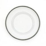 Tesoro Salad Dessert Plate MPN: TES0102 UPC: 814639000719 by Arte Italica Pewter