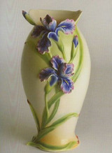 Franz Porcelain Iris Large Vase FZ00496