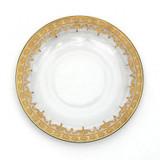 Vetro Gold Dinner Plate MPN: S693/26/SOZ UPC: 814639004984 by Arte Italica Pewter