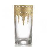 Vetro Gold Highball Glass MPN: VG842 UPC: 814639005165 by Arte Italica Pewter