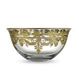 Vetro Gold Serving Bowl MPN: VG3765 UPC: 814639007282 by Arte Italica Pewter