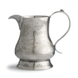 Vintage Pitcher with Deer MPN: VIN0303 UPC: 814639002232 by Arte Italica Pewter