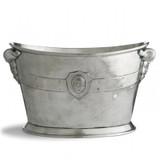 Vintage Wine Bucket MPN: VIN0355 UPC: 814639002256 by Arte Italica Pewter