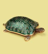 Turtle Watercress Medley Box Gold Plate by Edgar Berebi MPN: 7213/3