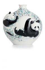 Franz Porcelain Pandas Vase Limited Edition 588 FZ02834