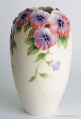 Franz Porcelain Pansy Large Vase FZ00422
