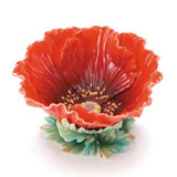 Franz Porcelain Poppy Ornamental Bowl FZ01991