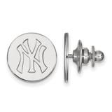 New York Yankees Lapel Pin Sterling Silver SS011YAN