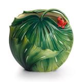 Franz Porcelain Rain Forest Little Dwellers Frog Vase FZ01871