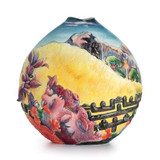 Franz Porcelain Sacred Mountain Mid Size Vase FZ02535