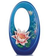 Franz Porcelain Serene Time Water Lily Vase FZ03192