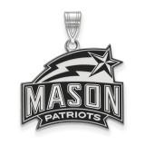 George Mason University Medium Enamel Pendant MPN: SS018GMU by LogoArt