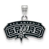 San Antonio Spurs Small Enamel Pendant MPN: SS019SPU by LogoArt
