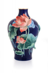 Franz Porcelain Years Of Peace Lotus Vase Limited Edition 2000 FZ02931