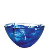 Kosta Boda Contrast Bowl Blue Medium MPN: 7050612 Designed by Anna Ehrner