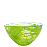 Kosta Boda Contrast Bowl Lime Medium MPN: 7050613 Designed by Anna Ehrner