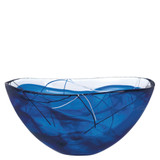 Kosta Boda Contrast Bowl Blue Large MPN: 7050451 Designed by Anna Ehrner