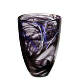 Kosta Boda Contrast Vase Black MPN: 7041010 Designed by Anna Ehrner
