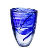 Kosta Boda Contrast Vase Blue MPN: 7041012 Designed by Anna Ehrner