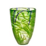 Kosta Boda Contrast Vase Lime MPN: 7041013 Designed by Anna Ehrner