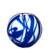 Kosta Boda Globe Vase Blue MPN: 7041519 Designed by Anna Ehrner