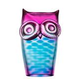 Kosta Boda My Wide Life Owl Blue/Pink MPN: 7091222 Designed by Ludvig Lofgren