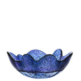 Kosta Boda Organix Bowl Stormy Blue Medium MPN: 7051518 Designed by Anna Ehrner