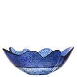 Kosta Boda Organix Bowl Stormy Blue Large MPN: 7051519 Designed by Anna Ehrner