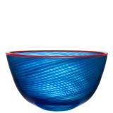 Kosta Boda Red Rim Bowl MPN: 7051407 Designed by Bertil Vallien