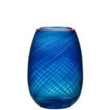 Kosta Boda Red Rim Vase Small MPN: 7041407 Designed by Bertil Vallien