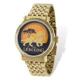 Disney Antique Gold-tone Lion King Watch Adult Size MPN: XWA5165