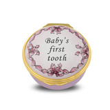 Halcyon Days Baby's First Tooth Pink Box ENBFT2601G EAN: 5060171152446