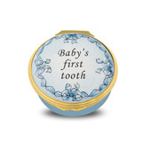 Halcyon Days Baby's First Tooth Blue Box ENBFT1201G EAN: 5060171152453