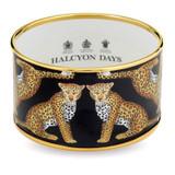 Halcyon Days Magnificent Wildlife Leopard 4Cm Sm Bangle PBMWL0240GS EAN: 5060171124245