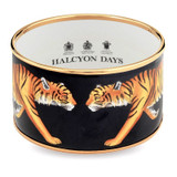 Halcyon Days Magnificent Wildlife Tiger Small Bangle PBMWT0240GS EAN: 5060171124252