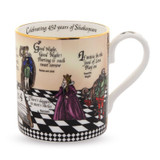 Halcyon Days Shakespeare Mug BCSHA01MGG EAN: 5060171137177