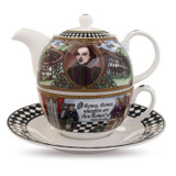 Halcyon Days Shakespeare Tea Set For One BCSHA01TON EAN: 5060171137191